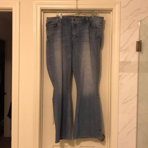 Seven7 Denim - Seven 7 jeans boot cut size 20W light denim
